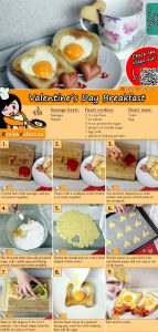 Valentine's Day Breakfast recipe with video