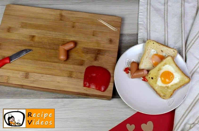 Valentine's Day Breakfast recipe, prepping Valentine's Day Breakfast step 1