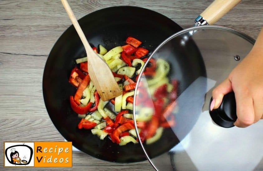 Veggie Penne recipe, prepping Veggie Penne step 2