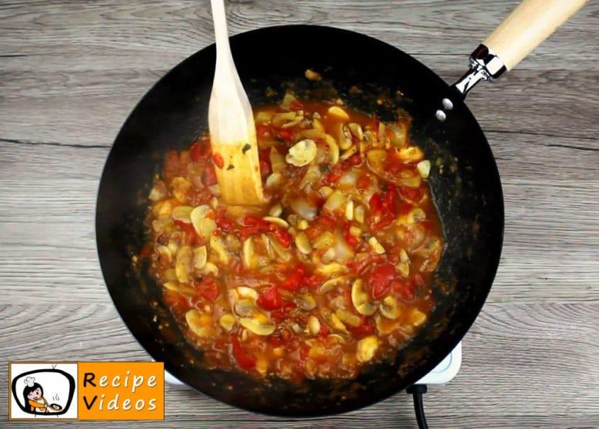 Veggie Penne recipe, prepping Veggie Penne step 5