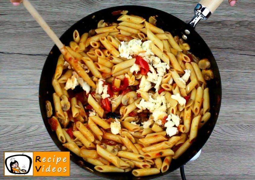 Veggie Penne recipe, how to make Veggie Penne step 9