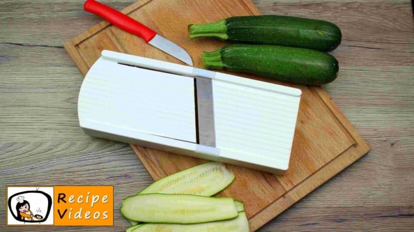 Zucchini Rolls recipe, prepping Zucchini Rolls step 3