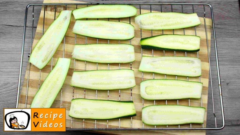 Zucchini Rolls recipe, prepping Zucchini Rolls step 4
