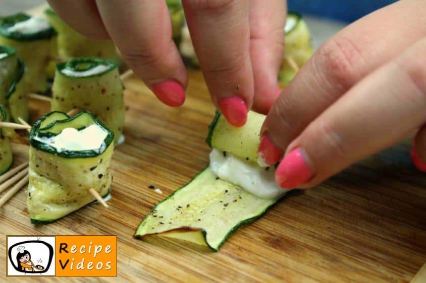 Zucchini Rolls recipe, prepping Zucchini Rolls step 7