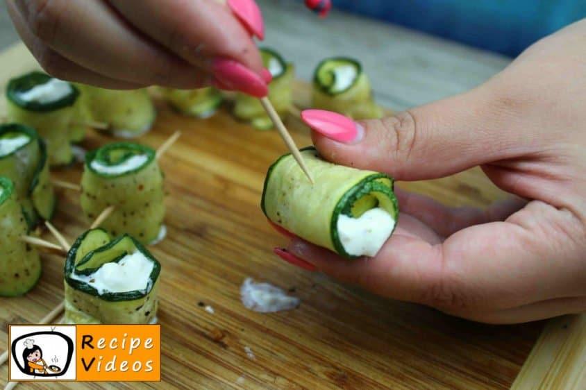 Zucchini Rolls recipe, prepping Zucchini Rolls step 8