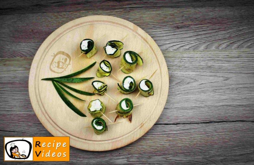Zucchini Rolls recipe, prepping Zucchini Rolls step 9