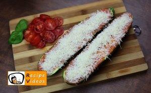 Zucchini Pizza recipe, prepping Zucchini Pizza step 4