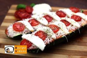 Zucchini Pizza recipe, prepping Zucchini Pizza step 5
