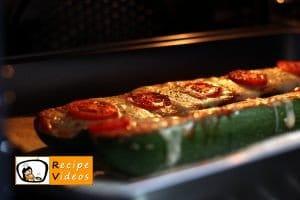Zucchini Pizza recipe, prepping Zucchini Pizza step 6