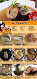 Beef roulades recipe with video