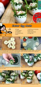 Easter egg nests recipe with video