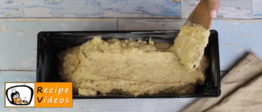 Nut Cake recipe, prepping Nut Cake step 5