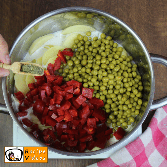 Potato Casserole recipe, prepping Potato Casserole step 4