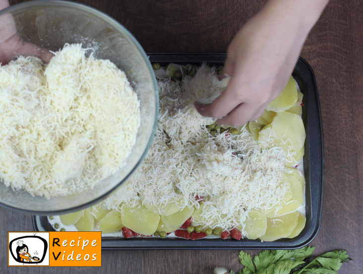 Potato Casserole recipe, prepping Potato Casserole step 5