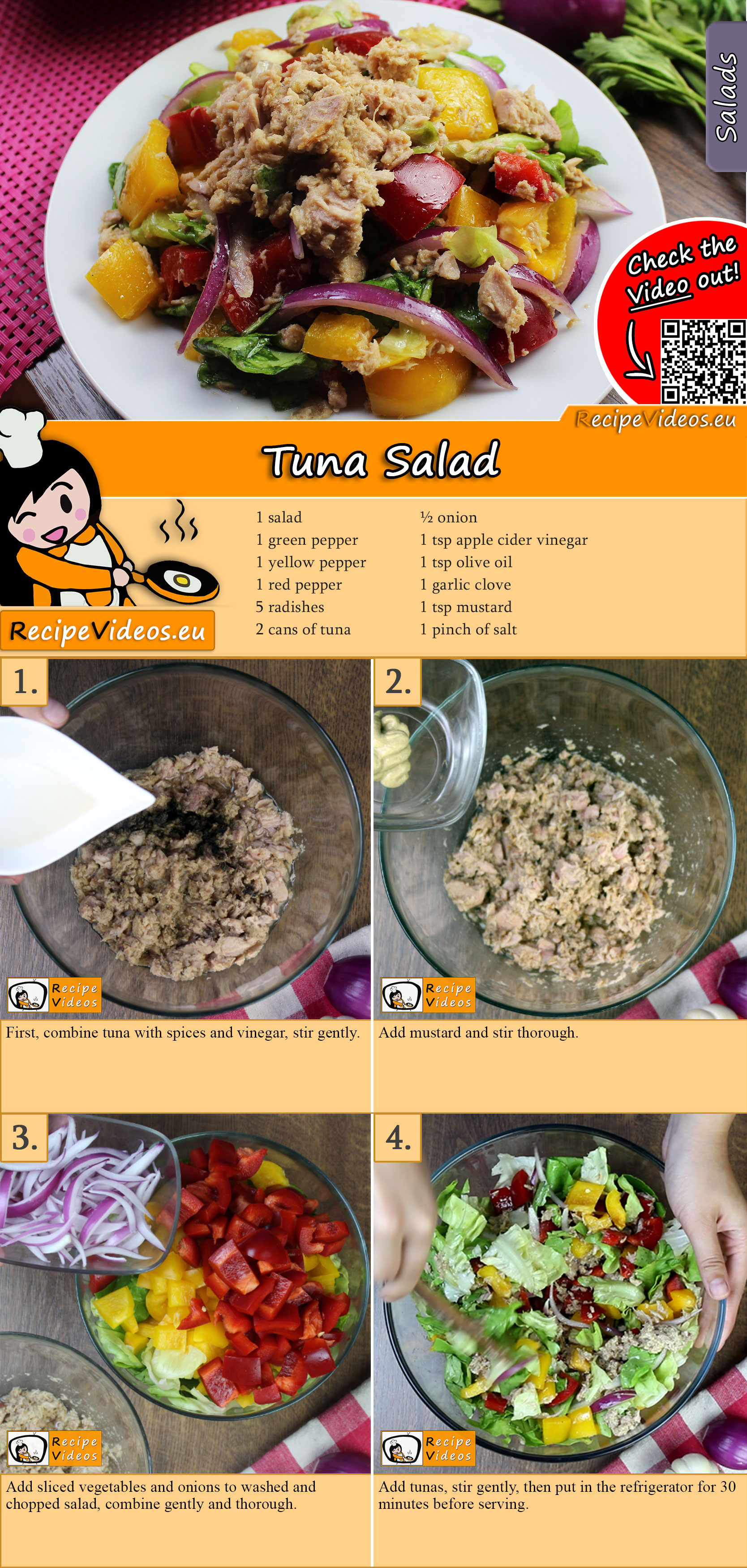 Tuna Salad recipe with video