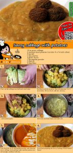 Savoy cabbage with potatoes recipe with video