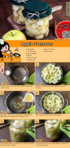 Apple Preserves recipe with video