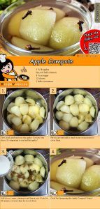 Apple compote recipe with video