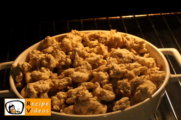 Apple Crumble recipe, how to make Apple Crumble step 7