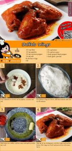 Buffalo Wings recipe with video