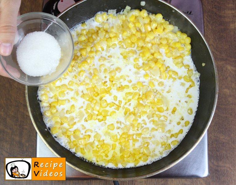 Creamed Corn recipe, how to make Creamed Corn step 3