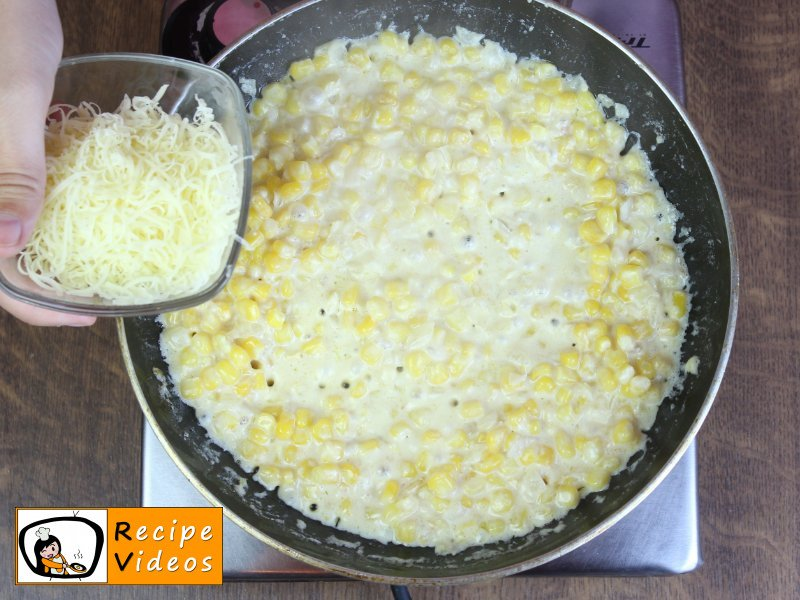 Creamed Corn recipe, prepping Creamed Corn step 4
