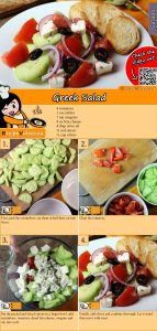 Greek Salad recipe with video