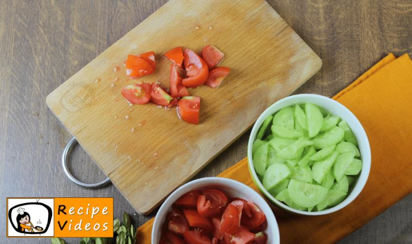 Greek Salad recipe, how to make Greek Salad step 2