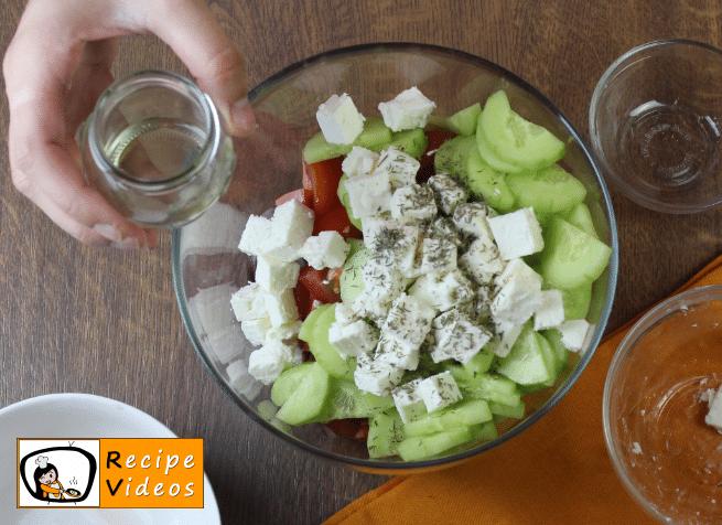 Greek Salad recipe, how to make Greek Salad step 3