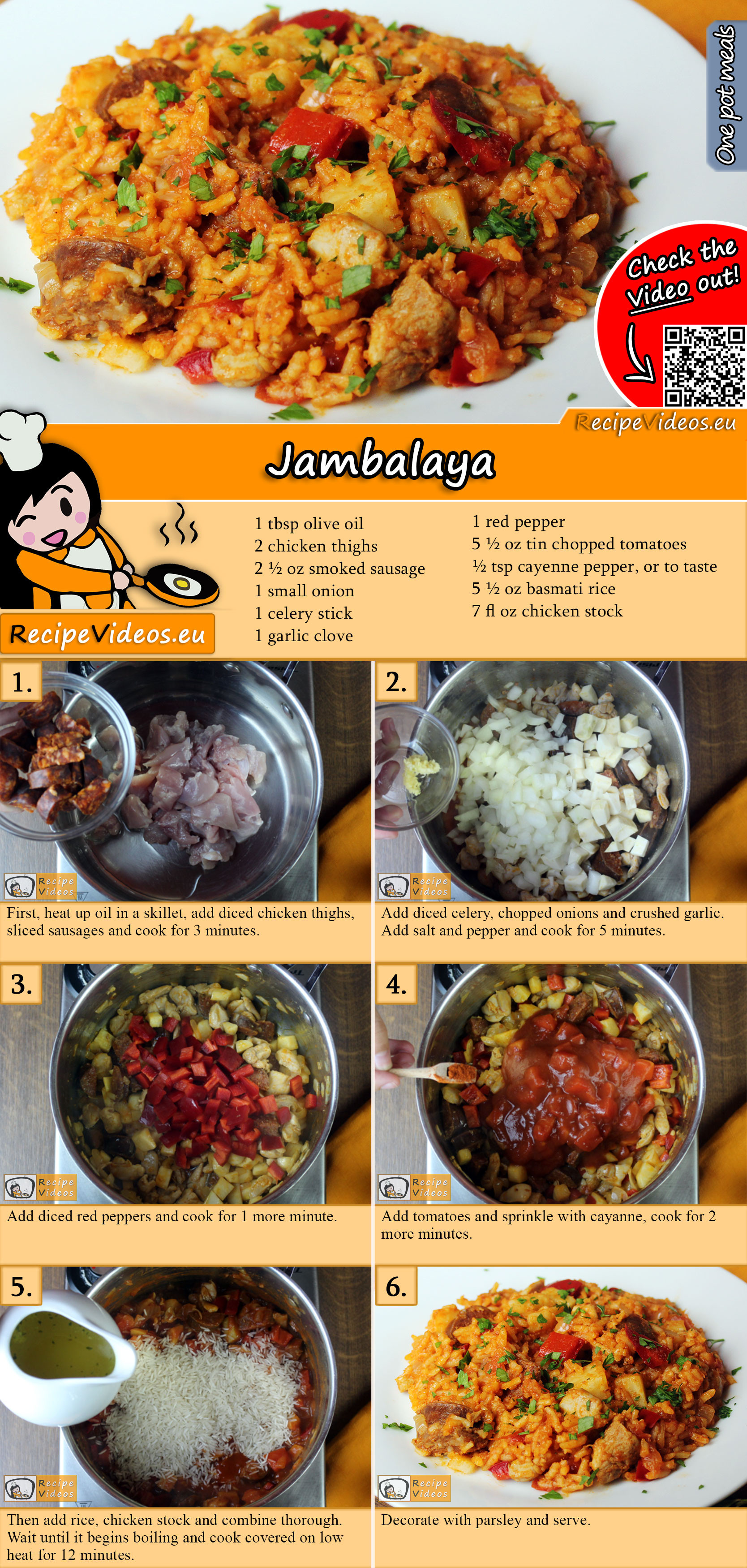 Jambalaya recipe with video