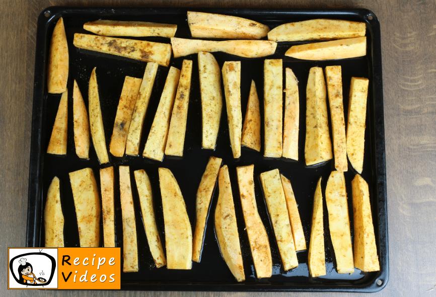 Sweet Potato Fries recipe, how to make Sweet Potato Fries step 3