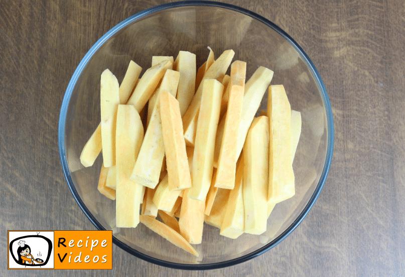 Sweet Potato Fries recipe, how to make Sweet Potato Fries step 1