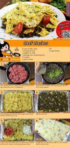 Beef Nachos recipe with video