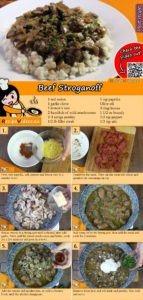 Beef Stroganoff recipe with video
