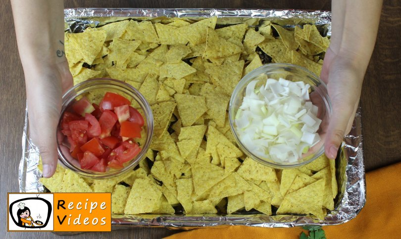 Beef Nachos recipe, prepping Beef Nachos step 5