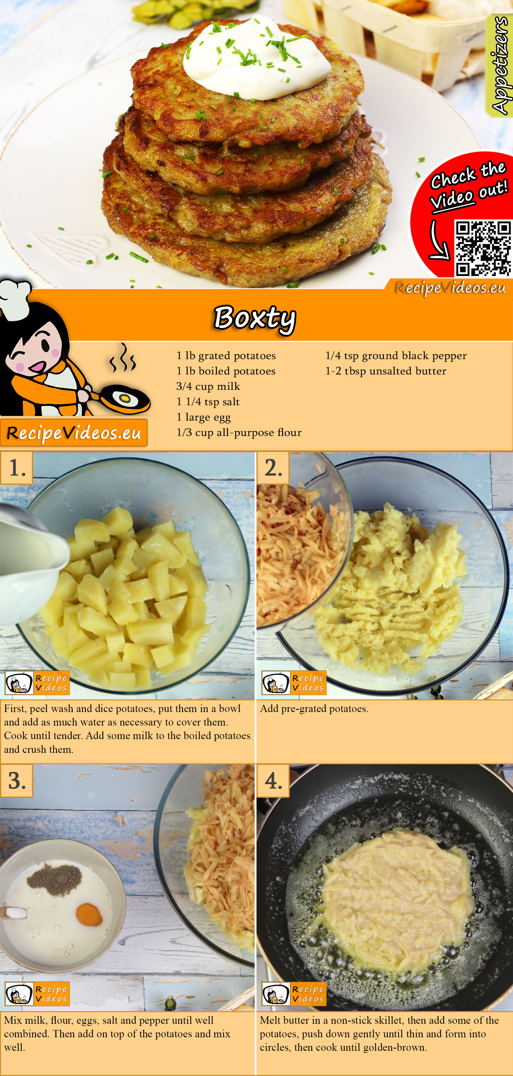 Boxty recipe with video