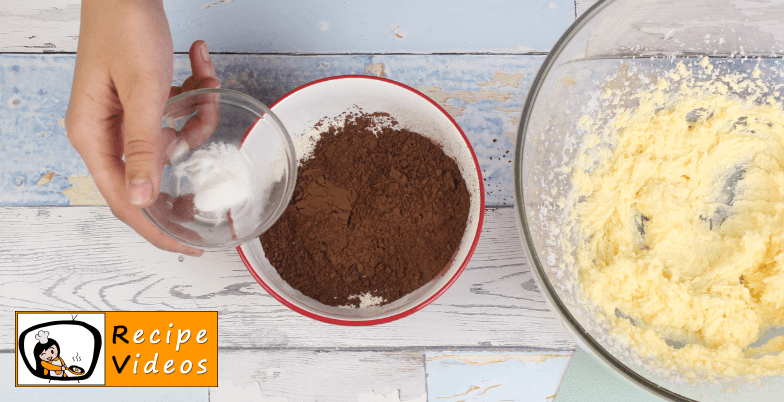 Chocolate Sponge Cake recipe, how to make Chocolate Sponge Cake step 3