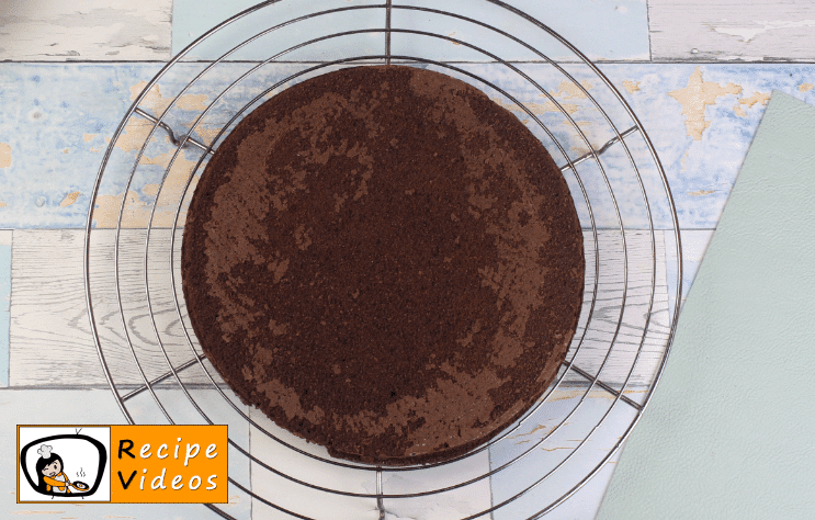Chocolate Sponge Cake recipe, how to make Chocolate Sponge Cake step 6