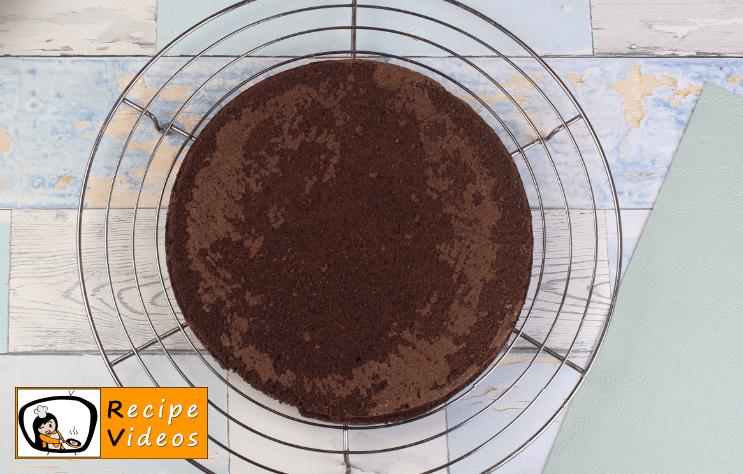 Chocolate Sponge Cake recipe, how to make Chocolate Sponge Cake step 6