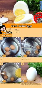 Hard-boiled Eggs recipe with video