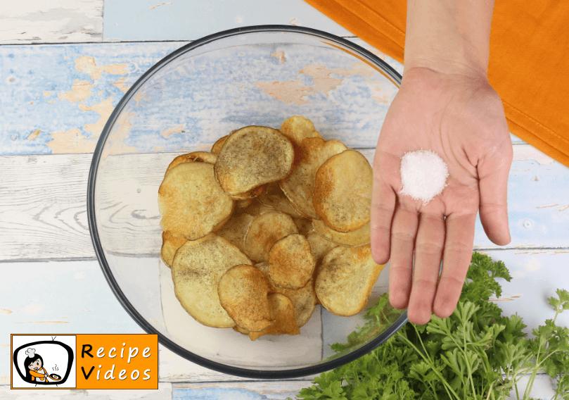 Homemade Potato Chips recipe, how to make Homemade Potato Chips step 6