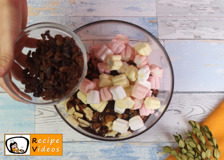 Rocky Road recipe, how to make Rocky Road step 3