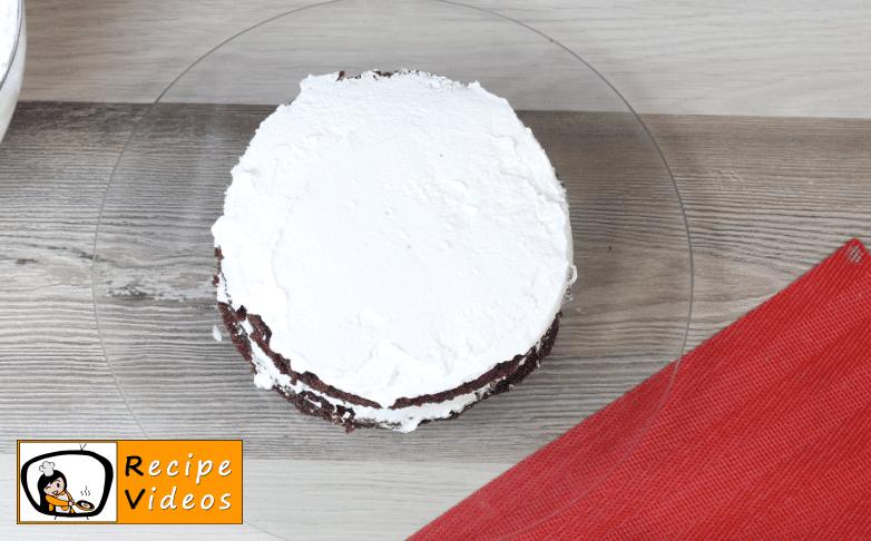 Southern Red Velvet Cake recipe, prepping Southern Red Velvet Cake step 8