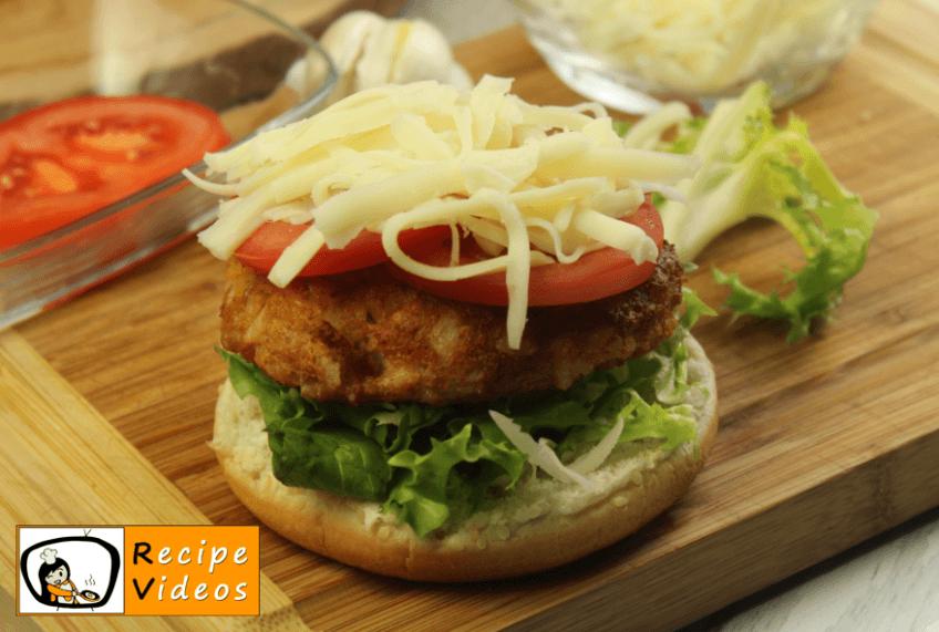 Veggie-Burger recipe, how to make Veggie-Burger step 7