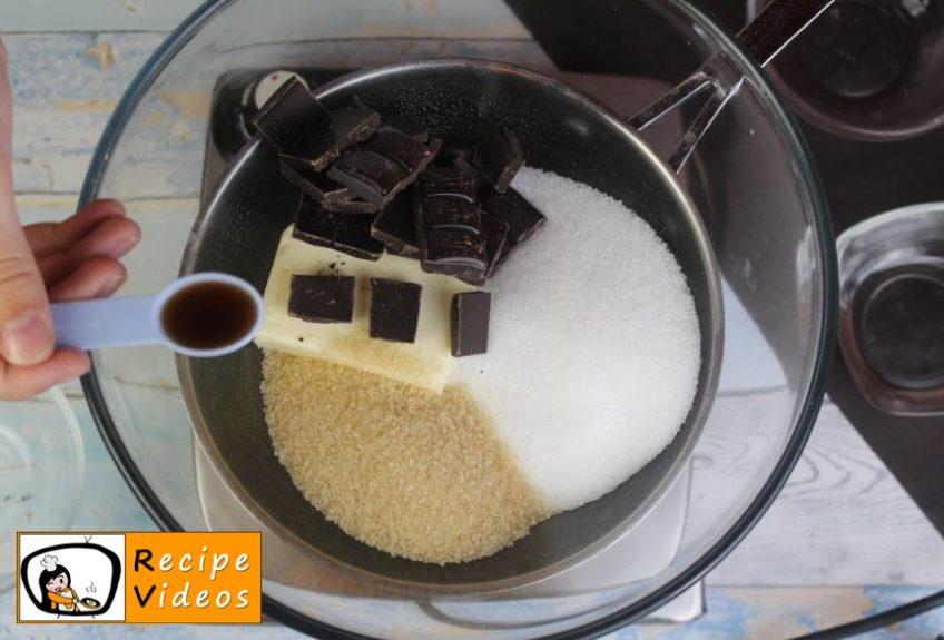 Brownie Cake recipe, prepping Brownie Cake step 1