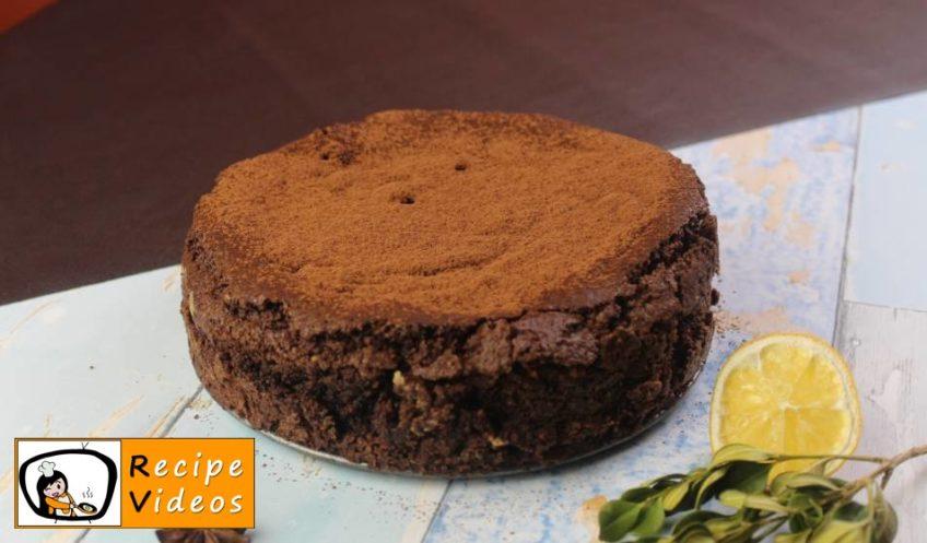 Brownie Cake recipe, prepping Brownie Cake step 5