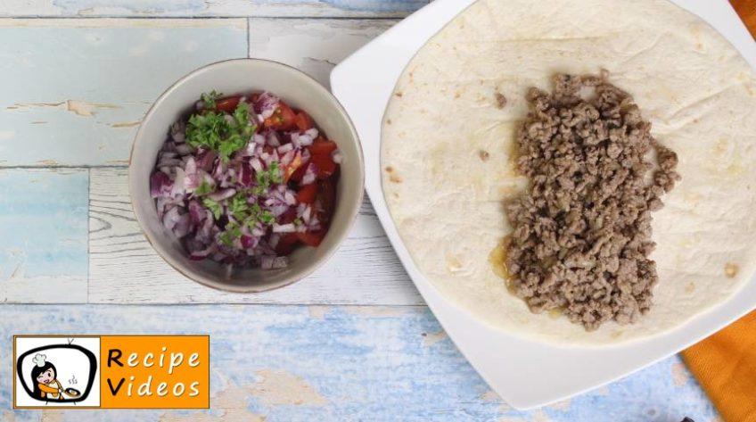 Burritos recipe, how to make Burritos step 3