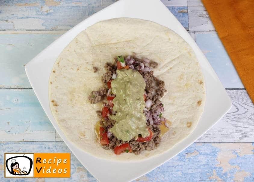 Burritos recipe, how to make Burritos step 4