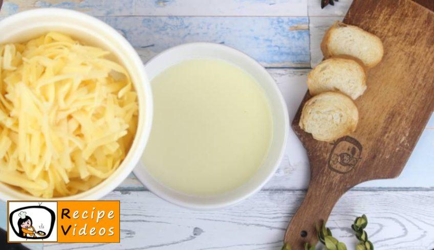 Cheese Fondue recipe, how to make Cheese Fondue step 3