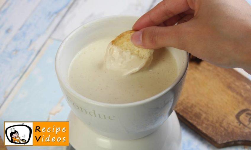 Cheese Fondue recipe, how to make Cheese Fondue step 6